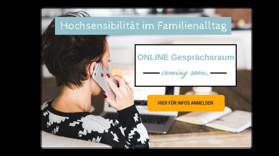 Online-Gesrpächsraum, startet im Frühling 2017